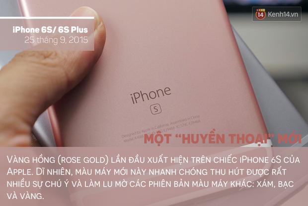 Săm soi lịch sử tắc kè hoa của chiếc iPhone, bạn thích màu máy nào nhất? - Ảnh 9.