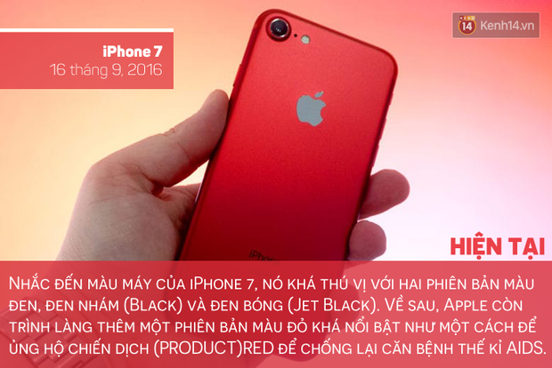 Săm soi lịch sử tắc kè hoa của chiếc iPhone, bạn thích màu máy nào nhất? - Ảnh 11.