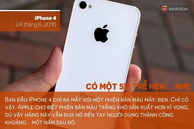Săm soi lịch sử tắc kè hoa của chiếc iPhone, bạn thích màu máy nào nhất? - Ảnh 3.