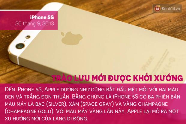 Săm soi lịch sử tắc kè hoa của chiếc iPhone, bạn thích màu máy nào nhất? - Ảnh 6.