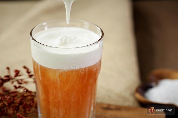 Xem ngay cách tự làm kem mặn pha trà sữa ngon y như ở ngoài hàng - Ảnh 8.