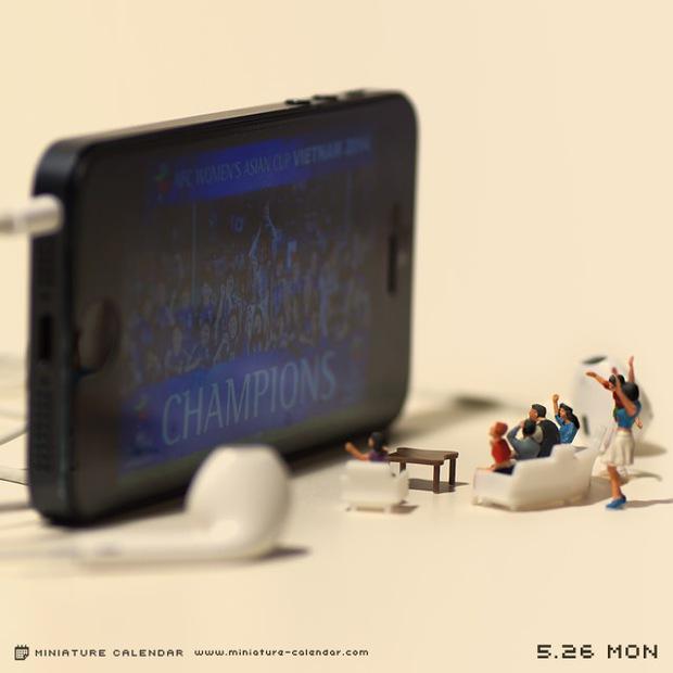 14 mô hình sắp đặt ấn tượng kết hợp từ smartphone - Ảnh 19.