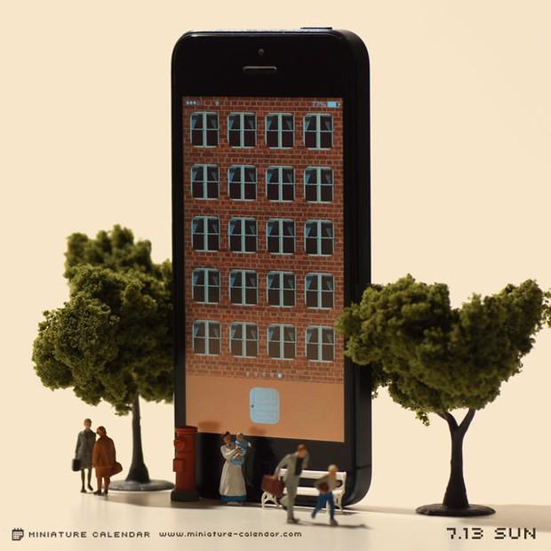 14 mô hình sắp đặt ấn tượng kết hợp từ smartphone - Ảnh 21.