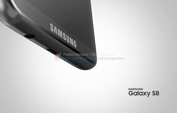 Chiêm ngưỡng ảnh render mới nhất của Galaxy S8 để thấy siêu phẩm này đẹp đến nhường nào - Ảnh 5.
