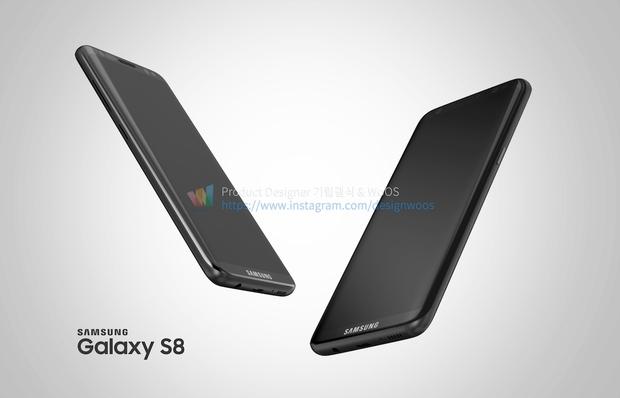 Chiêm ngưỡng ảnh render mới nhất của Galaxy S8 để thấy siêu phẩm này đẹp đến nhường nào - Ảnh 6.