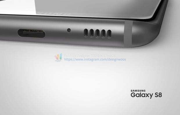 Chiêm ngưỡng ảnh render mới nhất của Galaxy S8 để thấy siêu phẩm này đẹp đến nhường nào - Ảnh 8.