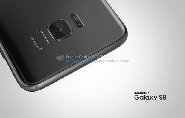 Chiêm ngưỡng ảnh render mới nhất của Galaxy S8 để thấy siêu phẩm này đẹp đến nhường nào - Ảnh 12.
