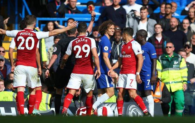 Luiz nhận thẻ đỏ, Chelsea vất vả cầm hòa Arsenal - Ảnh 3.