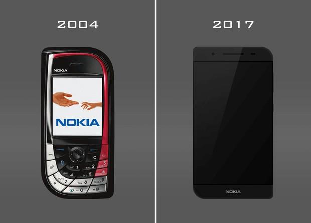 Bạn sẽ ngạc nhiên khi thấy mẫu thiết kế Nokia chiếc lá 2017 này - Ảnh 1.