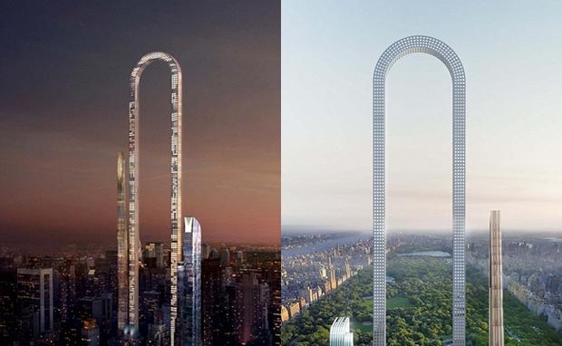 Hé lộ thiết kế tòa nhà hình chữ U phá bỏ mọi kỷ lục về chiều cao trên thế giới của Mỹ - Ảnh 1.