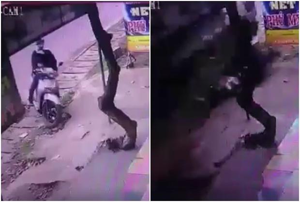 Xe tải lao với tốc độ tử thần tông nát xe máy chở 2 mẹ con ở Đồng Nai - Ảnh 1.