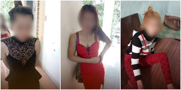 3 gái mại dâm được phát hiện đang bán dâm tại nhà nghỉ Thanh Thảo