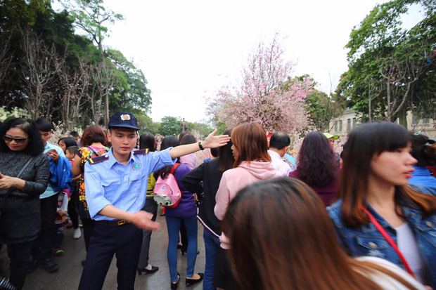 Nắng đẹp sau nhiều ngày mưa phùn, người dân Thủ đô ùn ùn kéo nhau lên phố đi bộ - Ảnh 4.