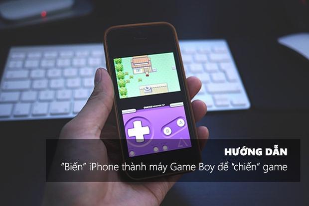 """Mẹo biến iPhone thành Game Boy để """"chiến"""" game đơn giản như ăn kẹo - Ảnh 1."""