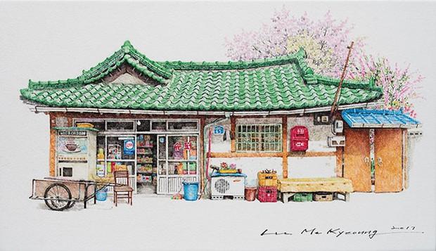 Có một Hàn Quốc đẹp không thốt nên lời qua tranh vẽ suốt 20 năm của người họa sĩ tài năng - Ảnh 10.