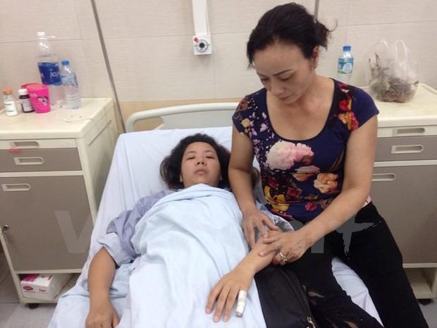Hà Nội: Điều tra vụ một thai phụ bị đánh hội đồng dã man - Ảnh 1.