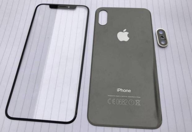 iPhone 8 lộ ảnh không viền màn hình đẹp chất ngất, cảm biến vân tay đặt ở nơi không tưởng - Ảnh 2.