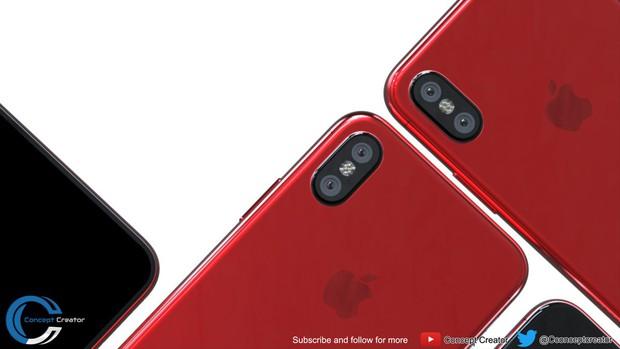 Cận cảnh iPhone 8 bản ĐỎ RỰC đẹp không thể chối cãi - Ảnh 3.