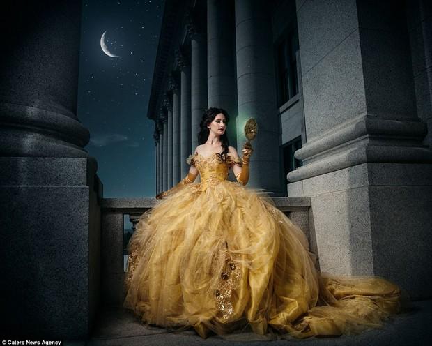 Bộ ảnh chân dung các nàng công chúa Disney khi về già - Ảnh 9.