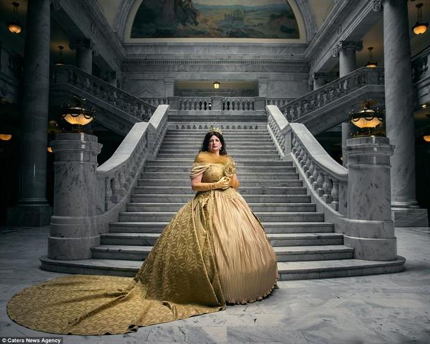 Bộ ảnh chân dung các nàng công chúa Disney khi về già - Ảnh 11.