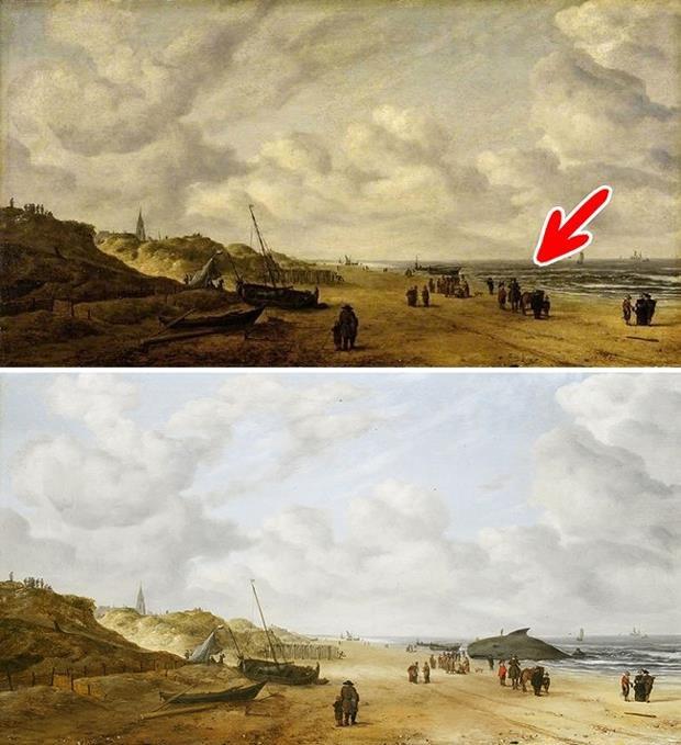 7 bí mật động trời được giấu trong những bức họa nổi tiếng - Ảnh 5.