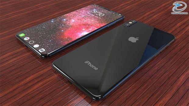 Cận cảnh iPhone 8 đẹp mướt mải, ai cũng sẽ muốn bỏ tiền mua chiếc điện thoại này - Ảnh 2.