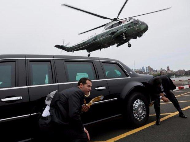 Cận cảnh Đội mật vụ bảo vệ Tổng thống Mỹ Donald Trump - Ảnh 2.