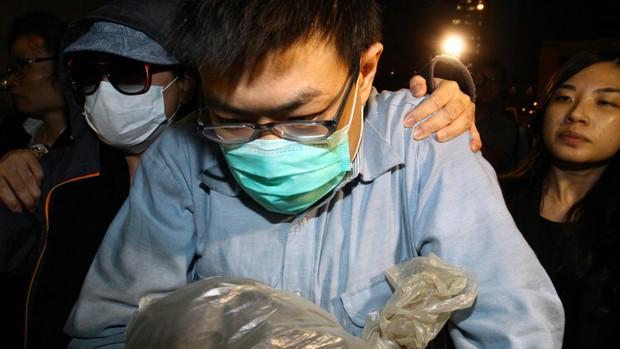 Kẻ sát nhân giết hại cha mẹ mình Henry Chau Hoi-leung.