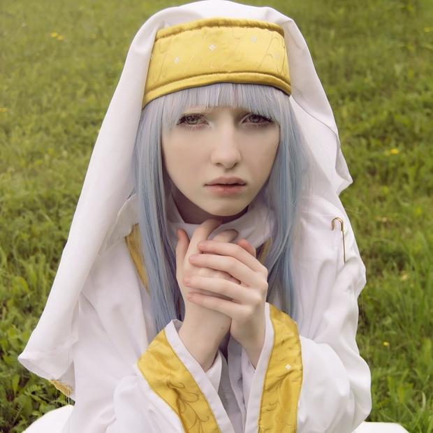 Mang diện mạo của công chúa tuyết, người mẫu bạch tạng nước Nga lại dành đam mê cháy bỏng cho văn hóa Nhật - Ảnh 2.