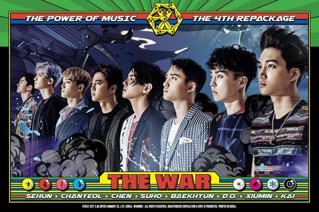 Bài mới của EXO còn không hot bằng bài của Red Velvet phát hành cách đây... 2 tháng - Ảnh 1.
