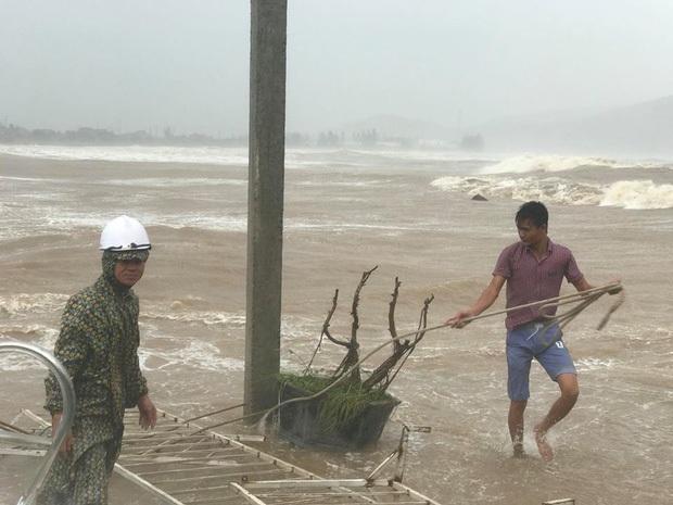 Bão số 10 đổ bộ vào đất liền, vùng tâm bão mưa to, gió giật mạnh - Ảnh 19.