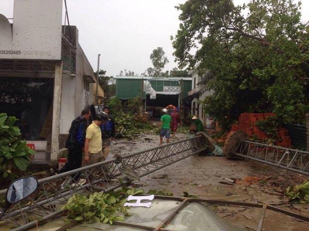 Bão số 10 đổ bộ vào đất liền, vùng tâm bão mưa to, gió giật mạnh - Ảnh 27.