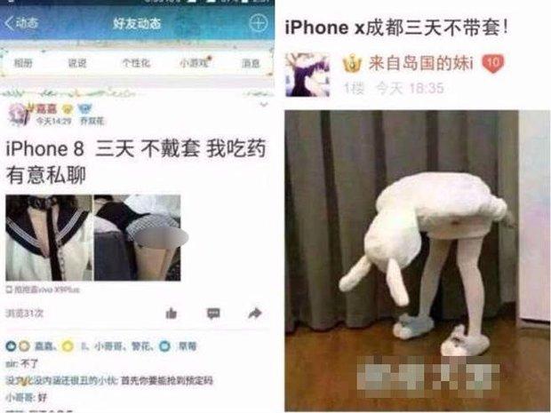 Cơn sốt iPhone X lan đến Trung Quốc, nhiều cô gái trẻ vội rao bán thân để lên đời điện thoại - Ảnh 2.