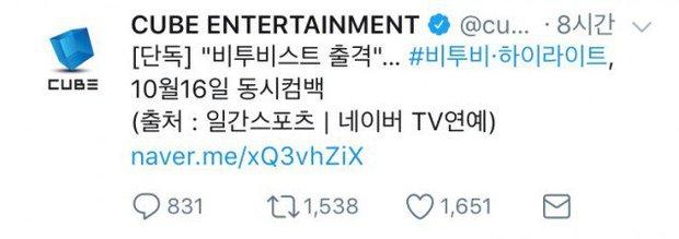 Fan tức phát khóc khi Cube lấy tên B2ST để quảng bá cho BTOB