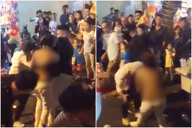 Triệu tập nam than niên lột đồ, đánh nhau với cô gái trẻ ở phố Hàng Mã vào đêm Trung thu - Ảnh 1.