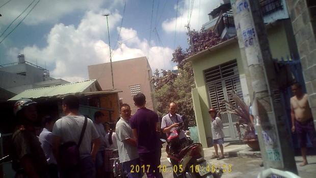 Nam thanh niên dùng dao đâm tài xế GrabBike ở Sài Gòn, toan cướp tài sản - Ảnh 1.