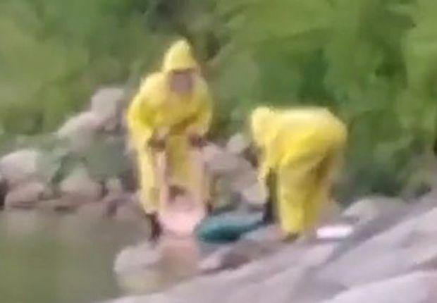 Đoạn video bí ẩn ghi lại cảnh một người cá được vớt từ dưới biển lên: Sự thật hay trò đùa của cư dân mạng? - Ảnh 2.