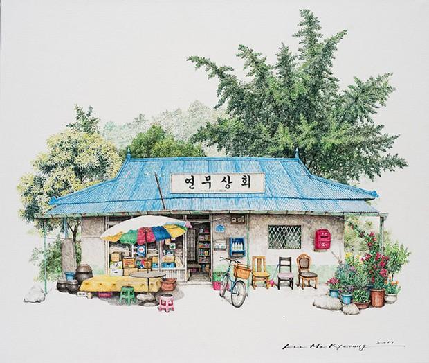 Có một Hàn Quốc đẹp không thốt nên lời qua tranh vẽ suốt 20 năm của người họa sĩ tài năng - Ảnh 7.