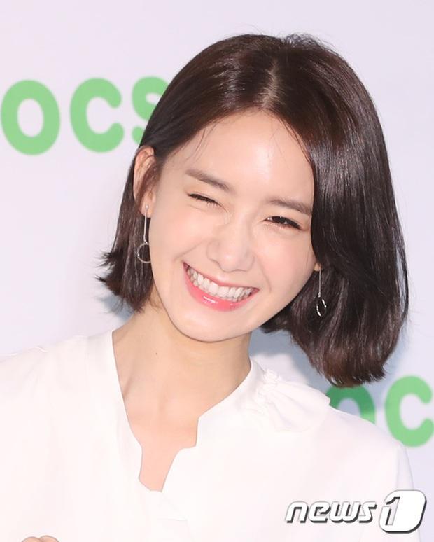 Khoảnh khắc tươi cười tinh nghịch của Yoona được ống kính truyền thông bắt gặp