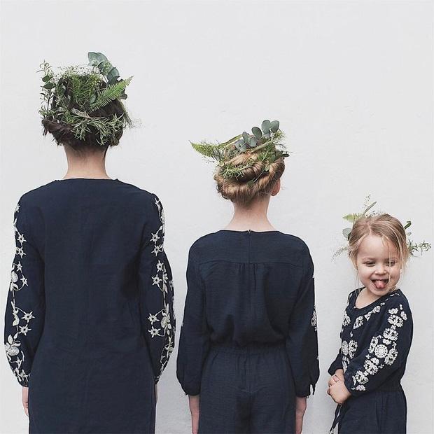 Nhà có 3 nàng tiên: Từ mẹ tới con đều xinh hết nấc và mặc đồ cực chất - Ảnh 6.