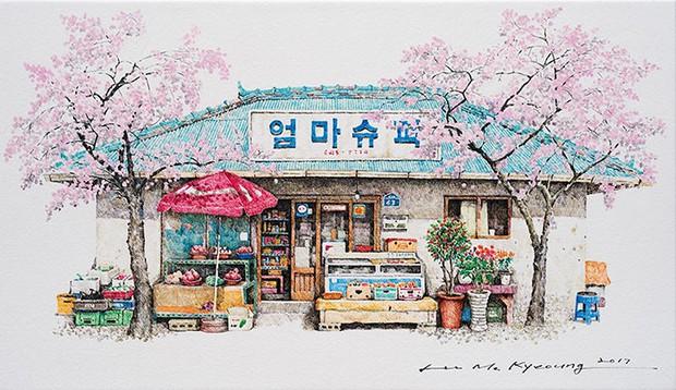 Có một Hàn Quốc đẹp không thốt nên lời qua tranh vẽ suốt 20 năm của người họa sĩ tài năng - Ảnh 8.