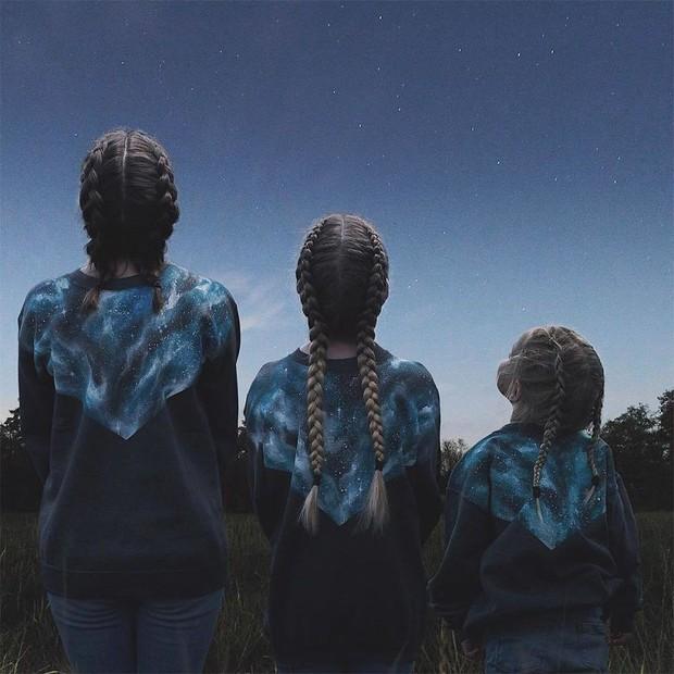 Nhà có 3 nàng tiên: Từ mẹ tới con đều xinh hết nấc và mặc đồ cực chất - Ảnh 7.