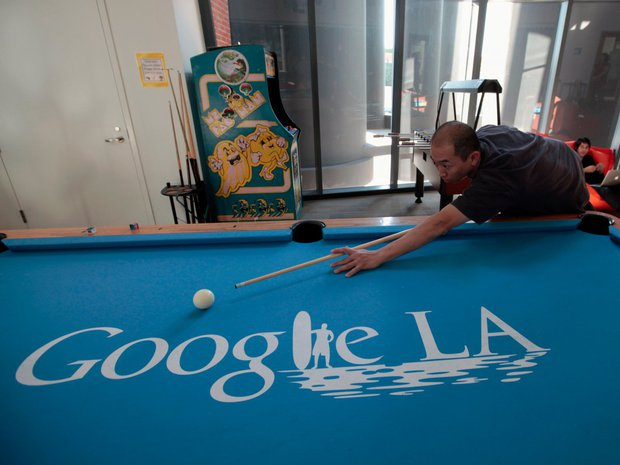 25 hình ảnh chứng tỏ Google đúng là nơi làm việc trong mơ - Ảnh 14.