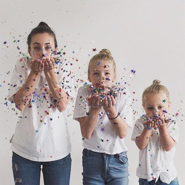 Nhà có 3 nàng tiên: Từ mẹ tới con đều xinh hết nấc và mặc đồ cực chất - Ảnh 8.
