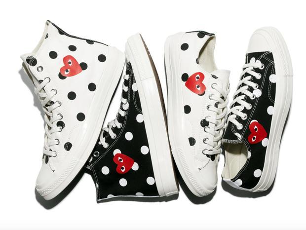 Converse x COMME des GARÇONS Play: đôi sneaker ra mắt đã lâu nhưng chưa bao giờ giới trẻ thôi mê đắm - Ảnh 14.