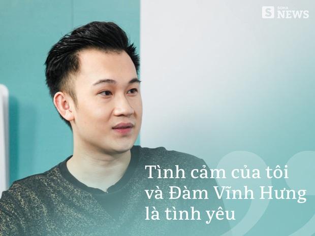 Dương Triệu Vũ lần đầu thừa nhận tình yêu với Đàm Vĩnh Hưng - Ảnh 4.