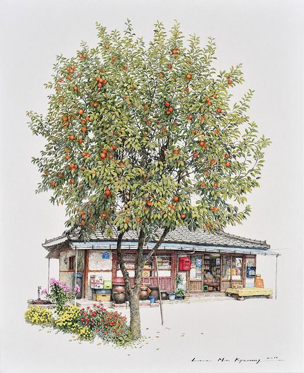 Có một Hàn Quốc đẹp không thốt nên lời qua tranh vẽ suốt 20 năm của người họa sĩ tài năng - Ảnh 2.