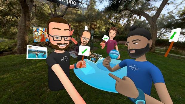 Facebook ra mắt phiên bản đầu tiên của mạng xã hội thực tế ảo Spaces - Ảnh 3.