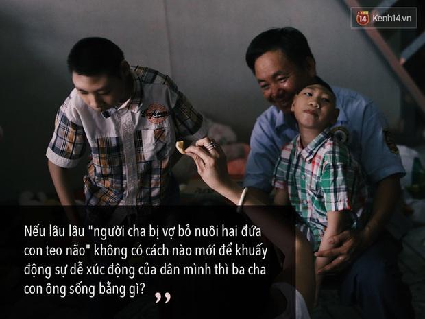 Chuyện ông bố Đặng Hữu Nghị xin lỗi mạnh thường quân và người Sài Gòn thương người lắm - Ảnh 3.