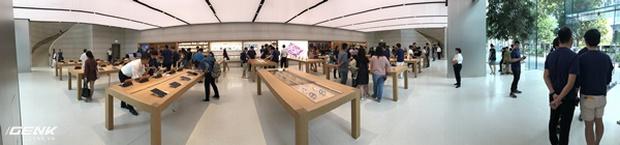 Trải nghiệm thực tế Apple Store Orchard Singapore: khi bạn không chỉ trả tiền cho thương hiệu, thiết kế mà quan trọng hơn cả là trải nghiệm - Ảnh 3.